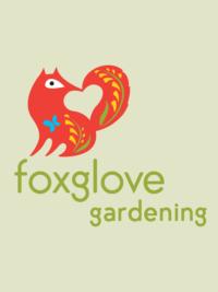 Foxglove Gardening Logo Green Flagstaff